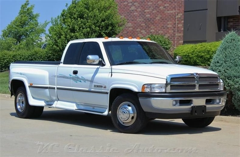 White 1996 Dodge Ram 3500 For Sale Mcg Marketplace