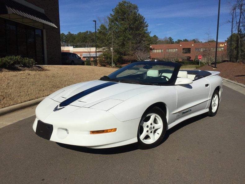 White 1994 Pontiac Trans Am For Sale Mcg Marketplace