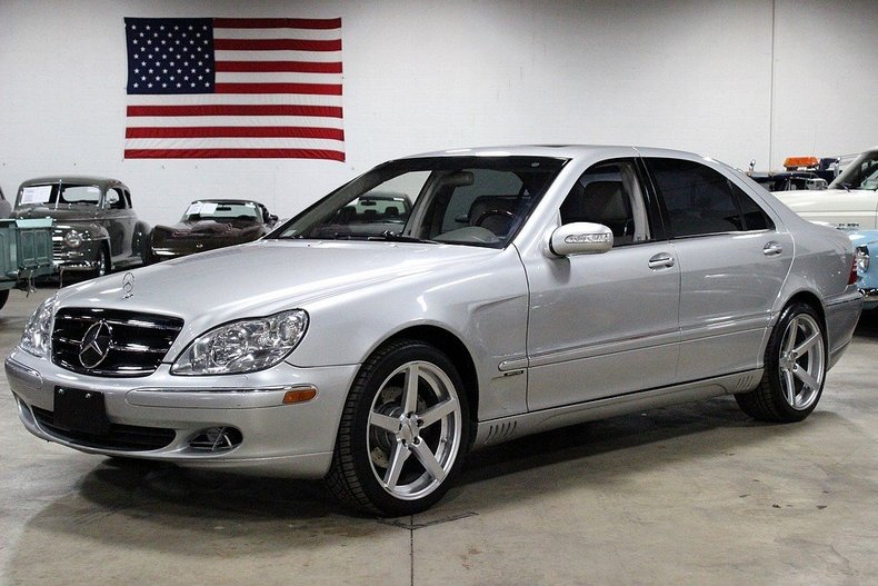 brilliant silver metallic 2003 mercedes benz s500 for sale