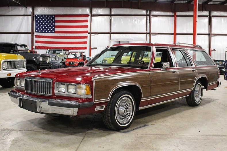 Burgundy 1991 mercury grand marquis for sale mcg marketplace for Garage marque autos richemont