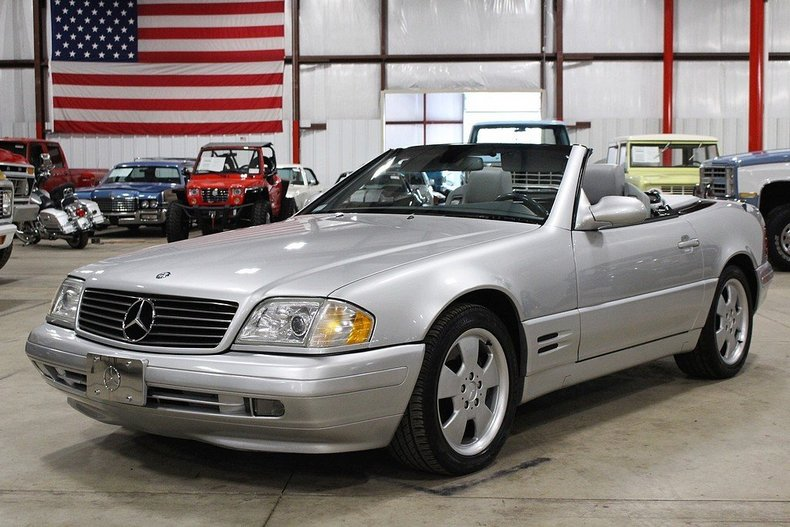 brilliant silver metallic 1999 mercedes benz sl500 for. Black Bedroom Furniture Sets. Home Design Ideas
