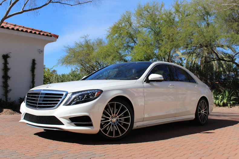 White 2016 mercedes benz s550 for sale mcg marketplace for White s550 mercedes benz for sale