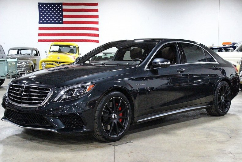 Magnetite black 2015 mercedes benz s63 for sale mcg for Mercedes benz s63 for sale