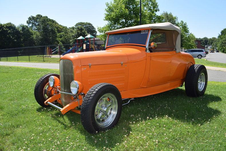 Orange 1929 ford model a for sale mcg marketplace for Garage ford orange
