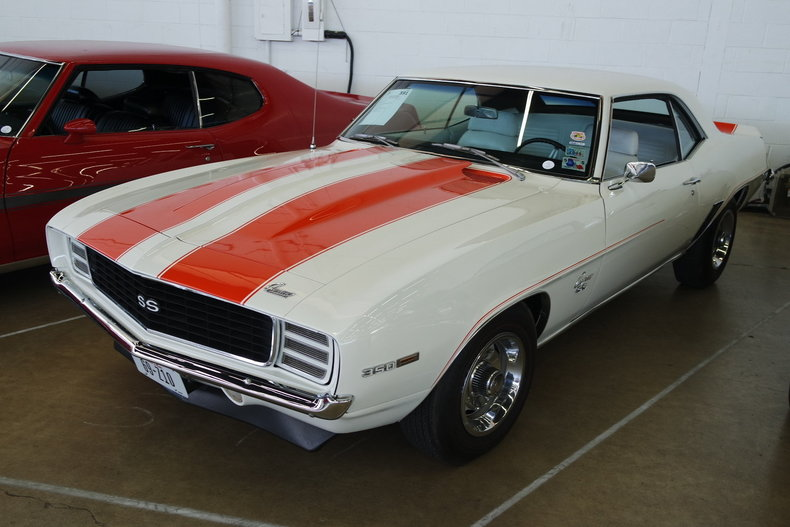 White 1969 Chevrolet Camaro Rs Ss For Sale Mcg Marketplace