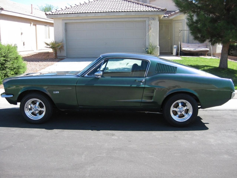Green 1967 Ford Mustang Gt Fastback For Sale Mcg Marketplace