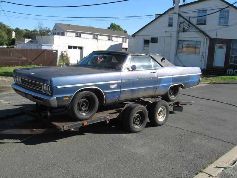 Jamaica Blue 1969 Plymouth Fury Iii For Sale Mcg Marketplace