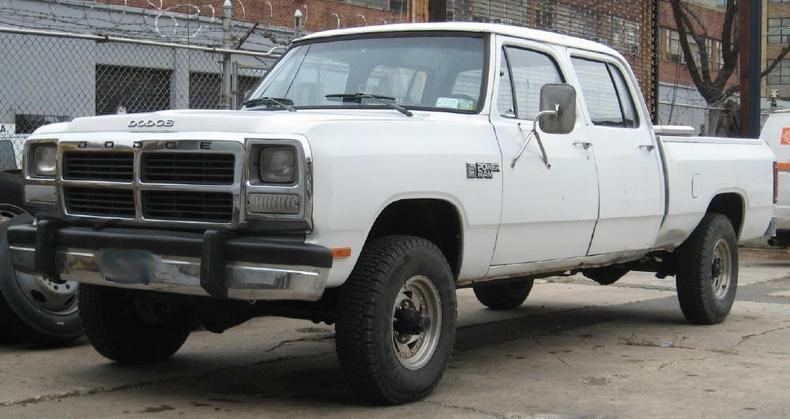 White 1985 dodge w250 4 x4 power ram for sale mcg marketplace