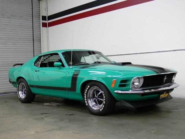 Boss For Sale Grabber Green 1970 Ford Mustang Boss 302