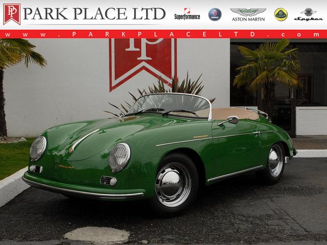 Irish Green 1957 Porsche 356 Speedster Re Creation For