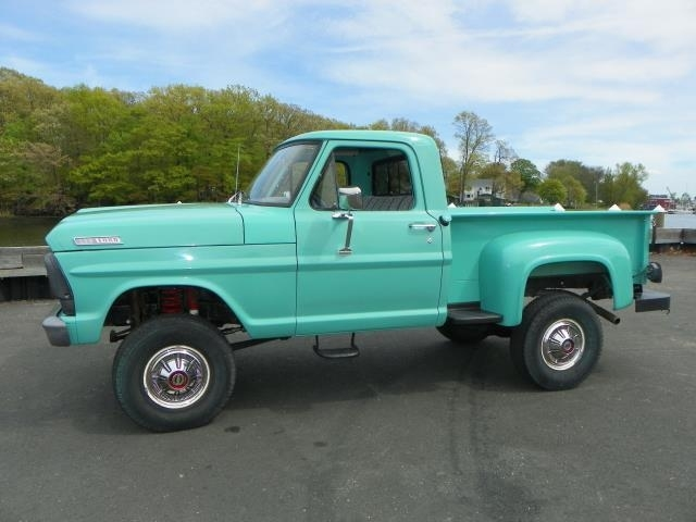 Teal 1967 Ford F100 For Sale MCG Marketplace