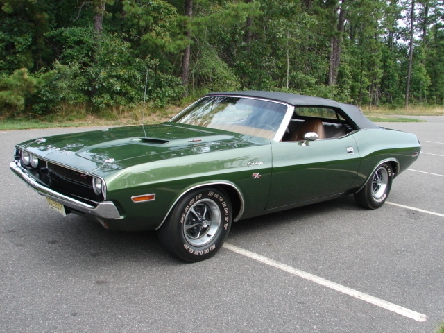 Factory F8 Dark Green 1970 Dodge Challenger R T For Sale