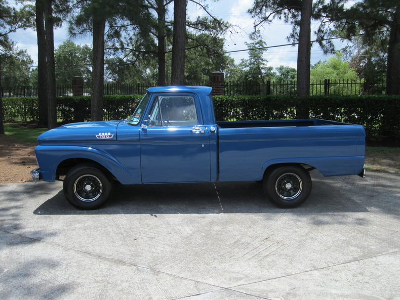 blue 1963 ford f100 for sale mcg marketplace. Black Bedroom Furniture Sets. Home Design Ideas