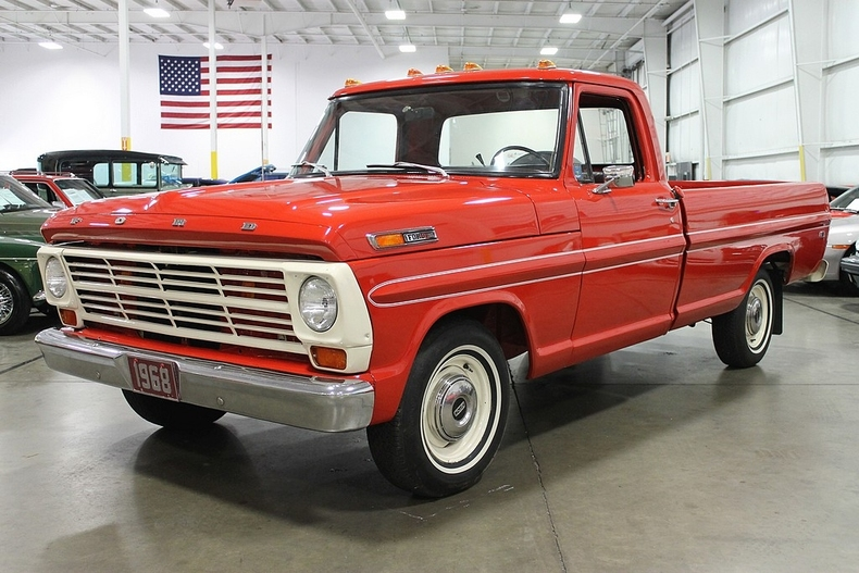 New Glacier White 1968 Ford F100 For Sale Mcg Marketplace