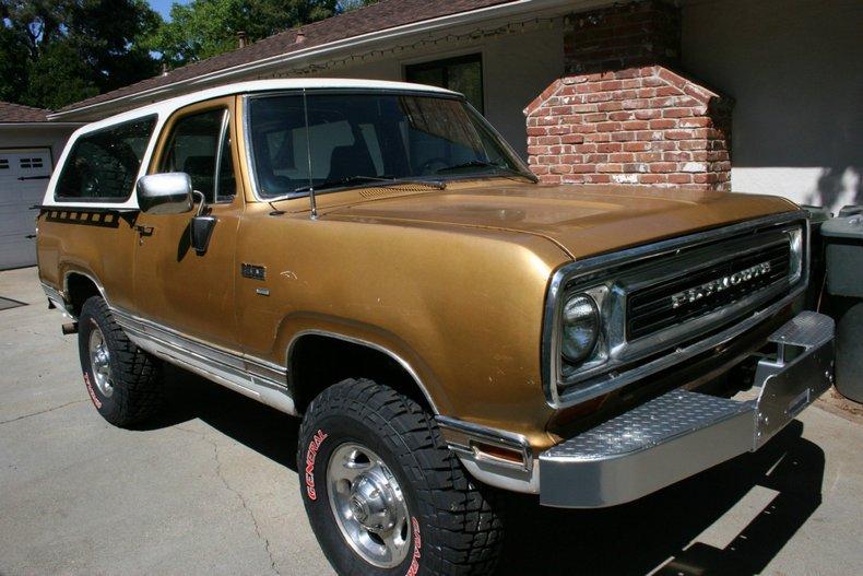 Gold Metallic 1974 Plymouth Trailduster For Sale   MCG ...