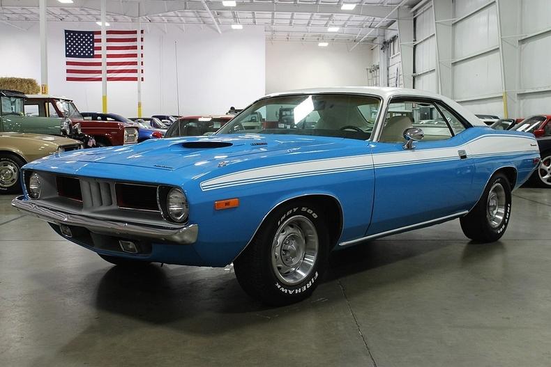 Car Garage For Sale >> New Glacier White 1973 Plymouth Barracuda For Sale   MCG ...
