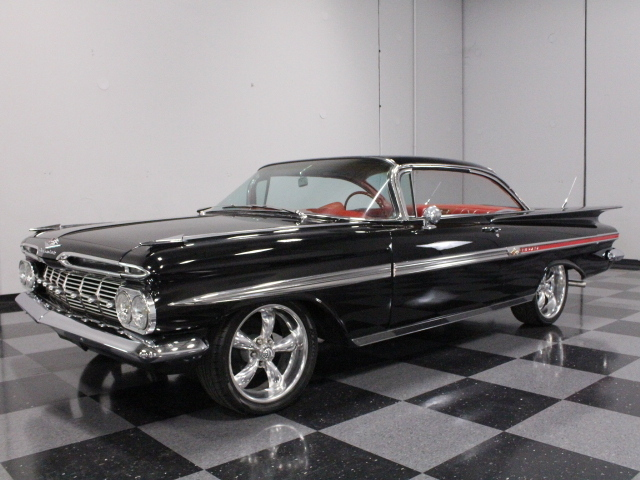black 1959 chevrolet impala for sale mcg marketplace. Black Bedroom Furniture Sets. Home Design Ideas