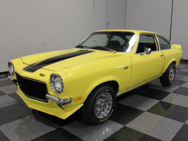 yellow 1972 chevrolet vega for sale mcg marketplace. Black Bedroom Furniture Sets. Home Design Ideas