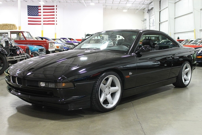 Black 1997 Bmw 840ci For Sale Mcg Marketplace