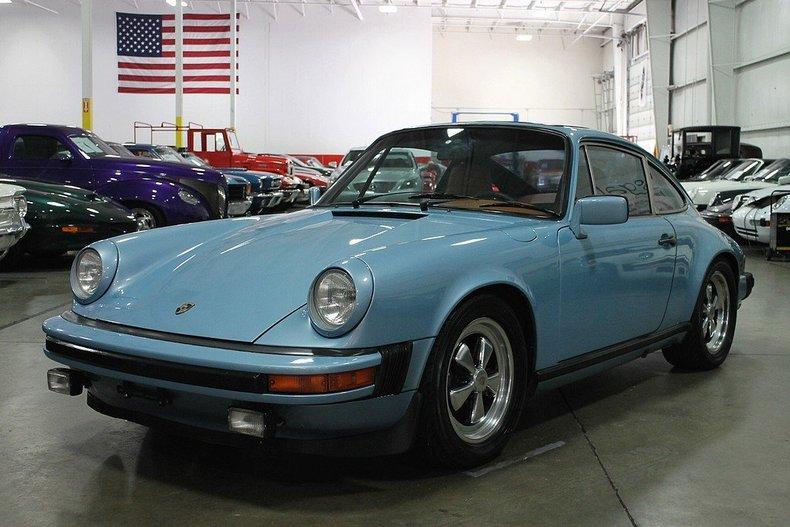 Light Blue 1979 Porsche 911 Sc For Sale | MCG Marketplace