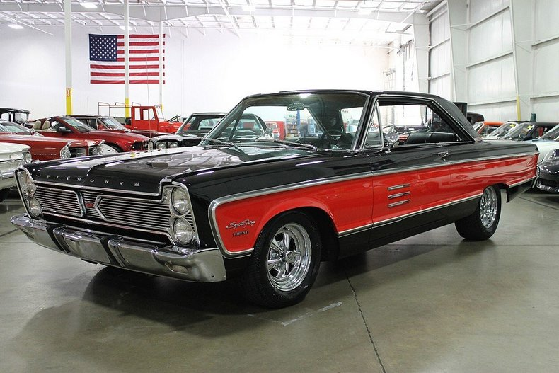 Craigslist Dc Cars >> Black 1966 Plymouth Sport Fury For Sale | MCG Marketplace