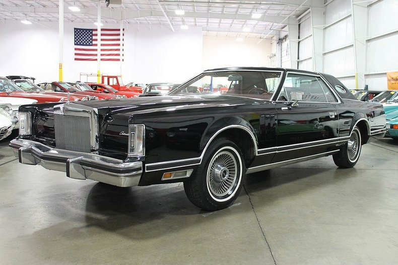 Black 1979 Lincoln Continental Mark V For Sale | MCG Marketplace