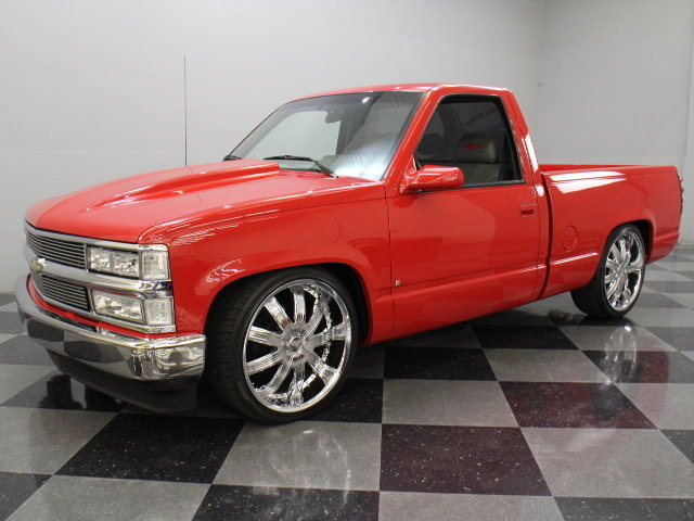 Red 1989 chevrolet c1500 for sale mcg marketplace