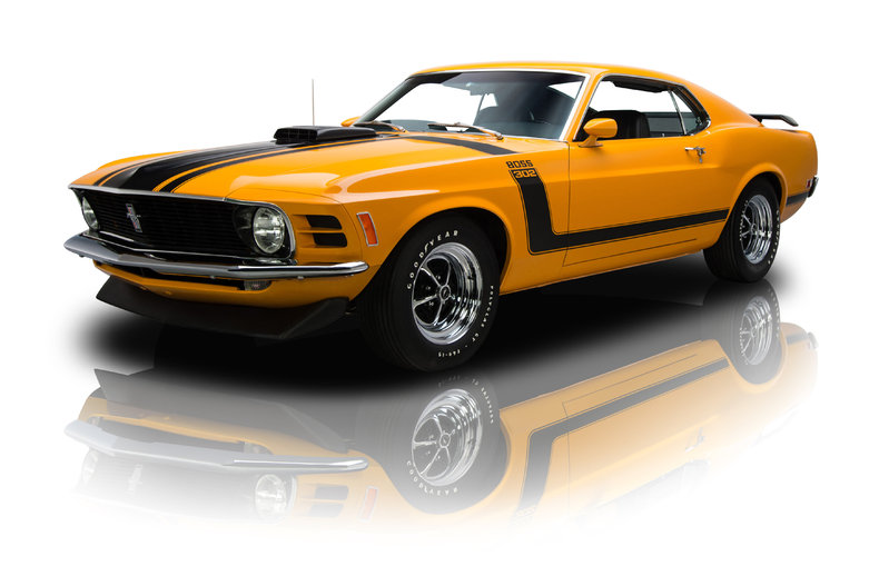 Grabber Orange 1970 Ford Mustang Boss 302 For Sale Mcg