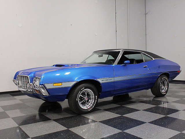 Ford Gran Torino For Sale Blue  Ford Torino For Sale Mcg Marketplace
