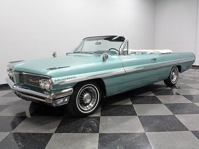 Aqua 1962 Pontiac Bonneville For Sale Mcg Marketplace