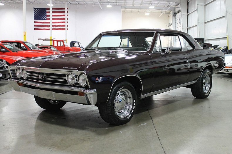 Madeira Maroon 1967 Chevrolet Chevelle Super Sport For Sale | MCG Marketplace