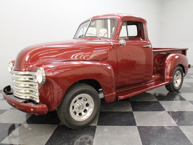 Burgundy 1952 chevrolet 3100 5 window for sale mcg for 1952 chevy 3100 5 window for sale