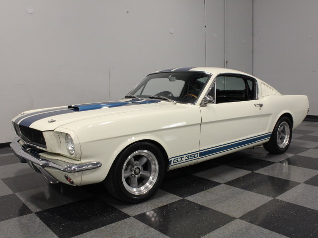 Wimbledon White 1965 Ford Mustang Gt350 For Sale Mcg