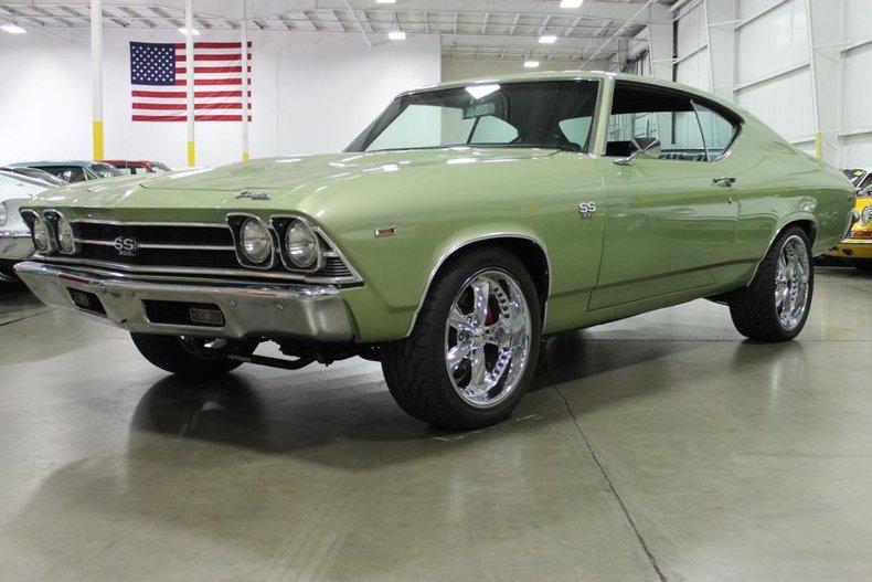 Light Green Metallic 1969 Chevrolet Chevelle For Sale
