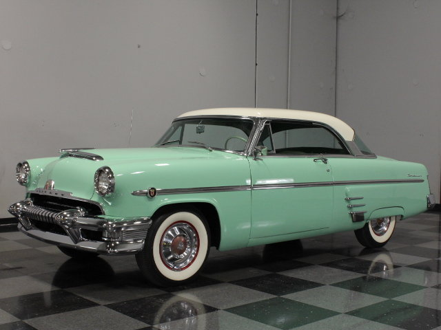 Ford Flathead V8 For Sale Green 1954 Mercury Monterey For Sale | MCG Marketplace