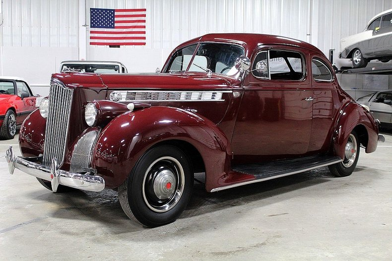 Burgundy 1940 Packard 110 For Sale Mcg Marketplace