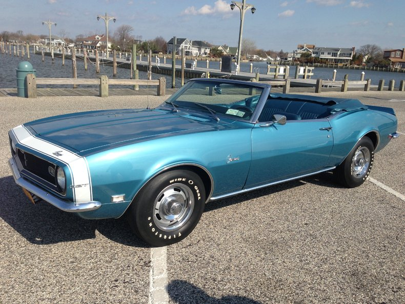 lemans blue 1968 chevrolet camaro convertible for sale mcg. Cars Review. Best American Auto & Cars Review