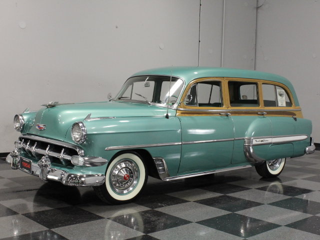 Green 1954 Chevrolet Bel Air For Sale Mcg Marketplace