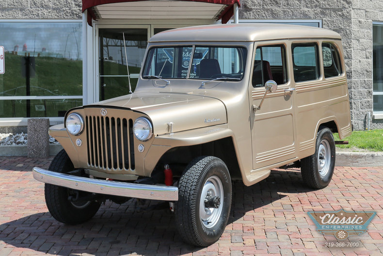 Gold Mist 1950 Willys Wagoneer For Sale Mcg Marketplace
