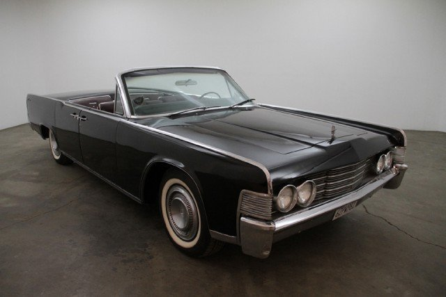 black 1965 lincoln continental for sale mcg marketplace. Black Bedroom Furniture Sets. Home Design Ideas