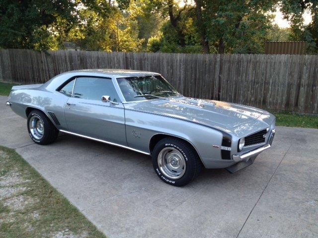 Cortez Silver 1969 Chevrolet Camaro Ss For Sale Mcg