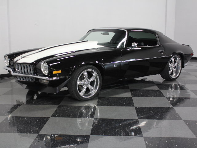 Black 1970 Chevrolet Camaro Ss 396 For Sale Mcg Marketplace