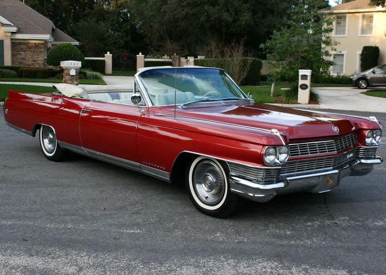 1964 Cadillac Eldorado Convertible Post Mcg Social