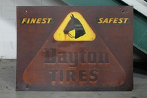 M68 Dayton Tires Sign