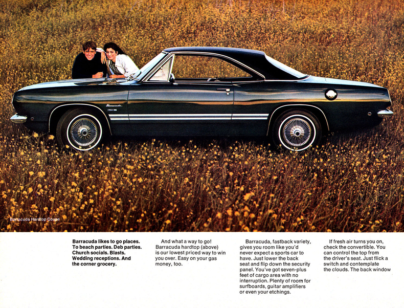 1968 Barracuda Specs Colors Facts History and Performance