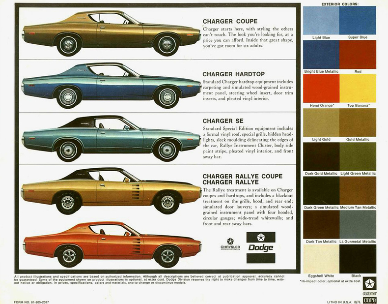Difference Between 1969 And 1970 Dodge Charger Car Autos