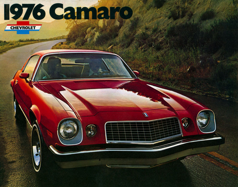 1976 Chevrolet Camaro My Classic Garage