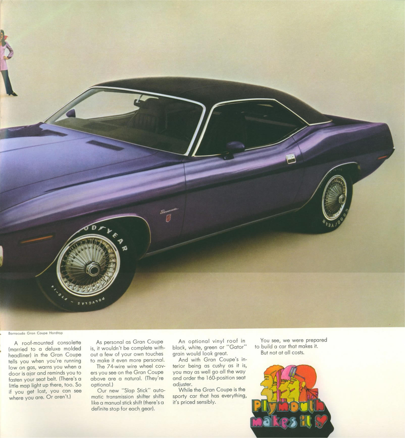 1970 Barracuda Specs, Colors, Facts, History, and Performance ...