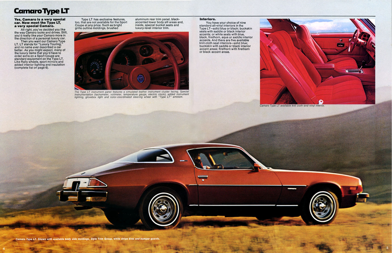 1977 Camaro Specs Colors Facts History and Performance