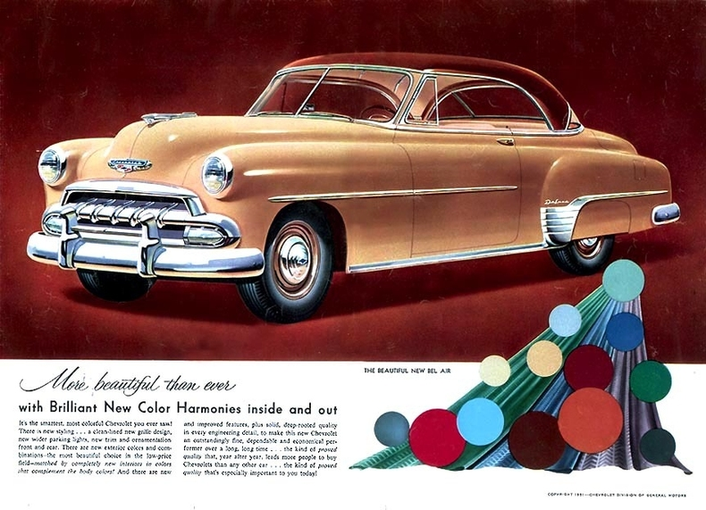 1952 Bel Air Specs, Colors, Facts, History, and ...